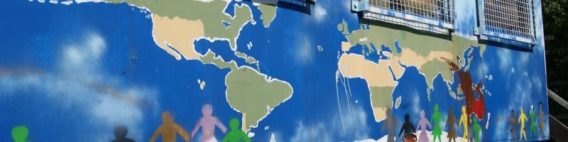 Grafik Weltkarte